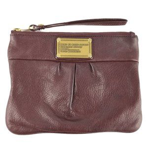 Marc Jacobs Womens Burgundy Cow Leather Wrislet